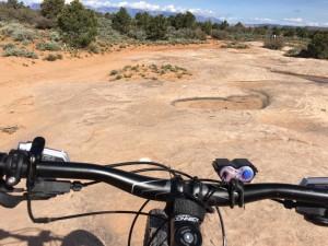 Follow the dots to mountain biking heaven on Gooseberry Mesa. Apple Valley, Utah, April 13, 2016   Photo by Hollie Reina, St. George News
