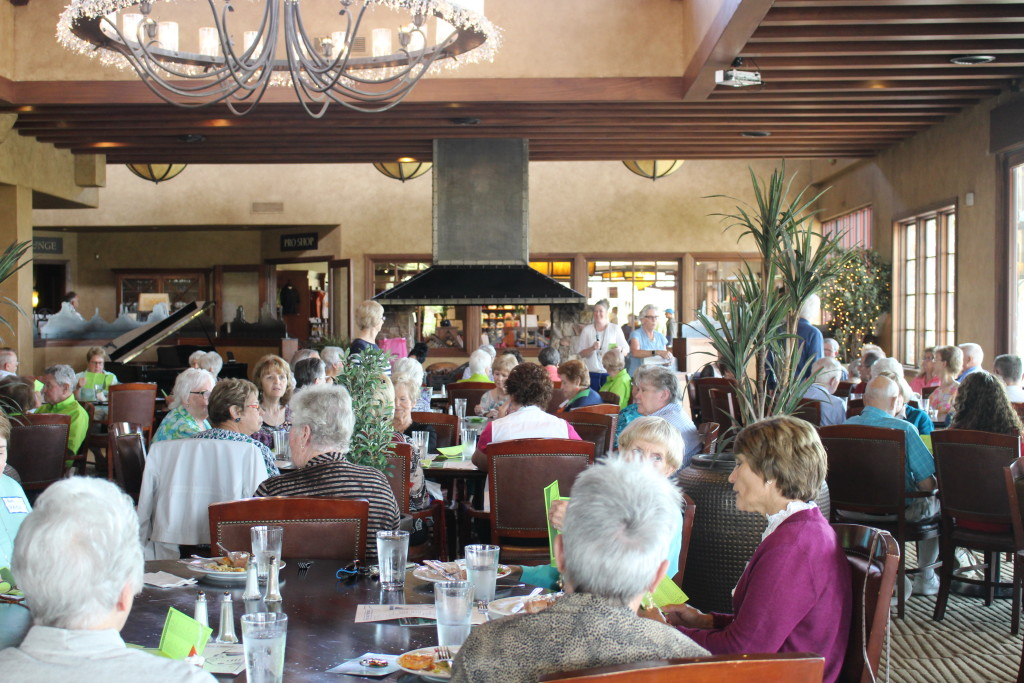More than 100 volunteers gather at DRMC luncheon, held at the Fish Rock Gille at the Ledges, St. George, Utah, Apr. 14, 2016| Photo by Cody Blowers, St. George News