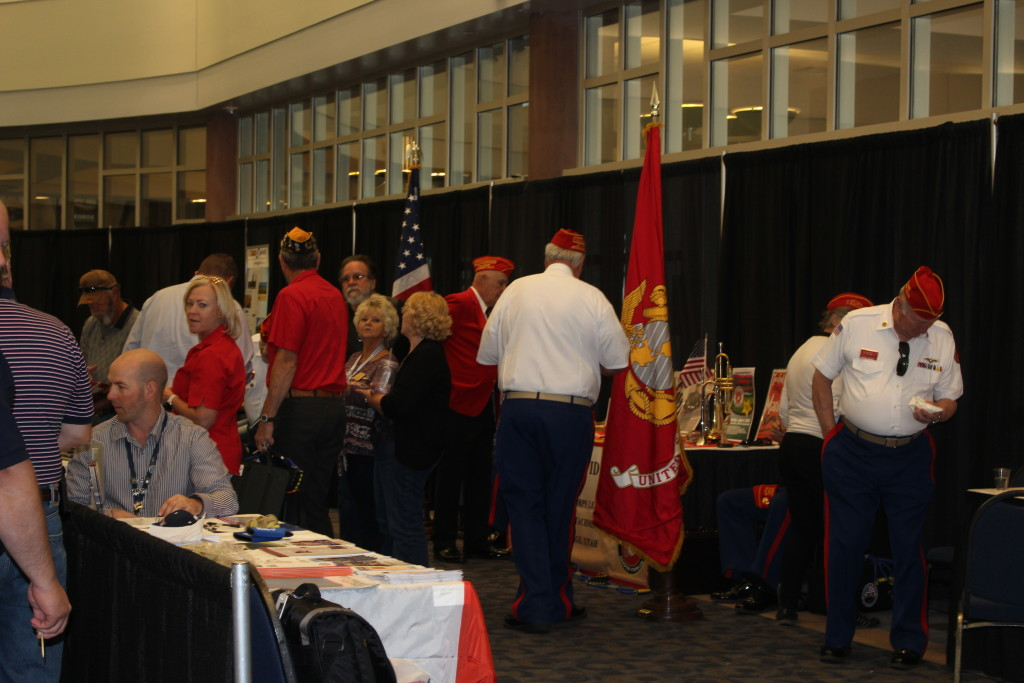 Veterans, families and friend mingle during event hosted by the Vietnam Veterans of America, Southern Utah Chapter 961, Dixie Convention Center, St. George, Utah, April 23, 2016|Photo by Cody Blowers, St. George News
