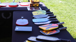 Pickleball supplies available at a vendor's booth at the USA Pickleball Association West Regional Tournament held in St. George, Utah, April 15-16, 2016   Photo by Don Gilman, St. George News