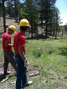 Youth participants in the Conservation Corps., Date and location not given | Photo courtesy of Conservation Corps, St. George News