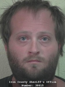 John Clayton Hawkins, 28, arrested Friday on Sodomy charges. April 23, 2016 Cedar City, Utah | Photo courtesy of Iron County Sheriff's Office, St. George/Cedar City News