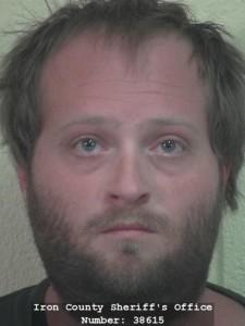 John Clayton Hawkins, 28, arrested Friday on Sodomy charges. April 23, 2016 Cedar City, Utah | Photo courtesy of Iron County Sheriff's Office, St. George/Cedar City News
