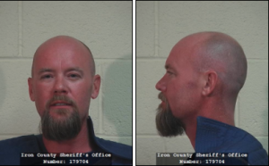 Grant Louis Biedermann, of Kanarravielle, Utah, booking photo posted Dec. 12, 2013   Photo courtesy of the Iron County Sheriff's Office, Cedar City News