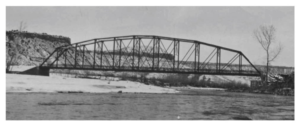 Rockville bridge upon completion, Rockville, Utah, photo not dated | Photo courtesy of Rockville Town, St. George News