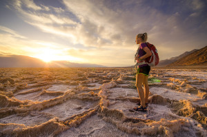Death Valley National Park, third place winner of the Share the Experience 2015 photo contest | Self-portrait photo by Sarah Gustafson, courtesy of National Park Foundation; St. George News