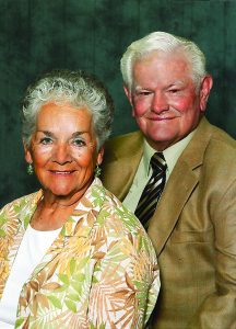 Ronald and Nora Axton, recipients of the Dixie Spirit Award, Date and location not given, | Photo courtesy of DSU, St. George News