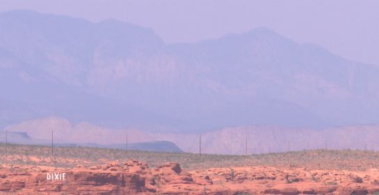 Haze seen in St. George, Utah, August 2015 | Stock image, St. George News