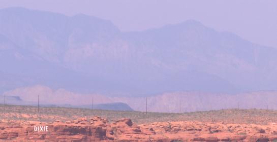 Haze seen in St. George, Utah, August 2015 | Stock image, St. George News