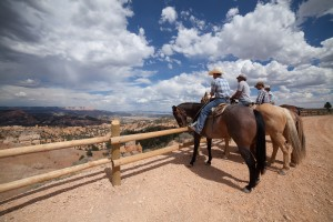 Guests of Ruby's Inn enjoy guided horseback rides. Bryce Canyon, date not specified | Photo courtesy of Ruby's Inn, St. George News