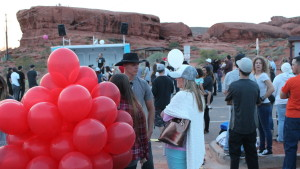 A candlelight vigil was held at Pioneer Park to remember those lost to the disease of addiction, while also supporting addiction recovery and awareness, St. George, Utah, April 20, 2016 | Photo by Mori Kessler, St. George News