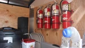 Items inside the CERT trailer kept on the Dixie State University campus, St. George, Utah, April 21, 2016   Photo by Mori Kessler, St. George News