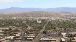 Overlooking the City of St. George, St. George, Utah April 4, 2016 | Photo by Mori Kessler, St. George News
