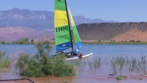 Sand Hollow Sailing Classic, Sand Hollow State Park, Hurricane, Utah, May 14, 2016 | Photo by Austin Peck, St. George News