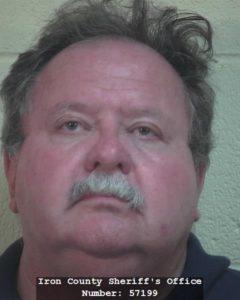 Milford Haley, 50, of Cedar City, Utah, | Photo courtesy of the Iron County Sheriff's Office, St. George/Cedar City News