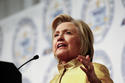 Democratic presidential candidate Hillary Clinton speaks at the NAACP's 61st annual Fight for Freedom Fund dinner Sunday, Detroit, Michigan, May 1, 2016 | AP Photo by Paul Sancya; St. George News