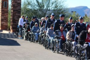Junior ROTC cadets participate in the 2nd annual Veterans Day 5K and Fun Run, Ivins, Utah, Nov. 7, 2015 | Photo courtesy of Col. Glenn Whicker, St. George News