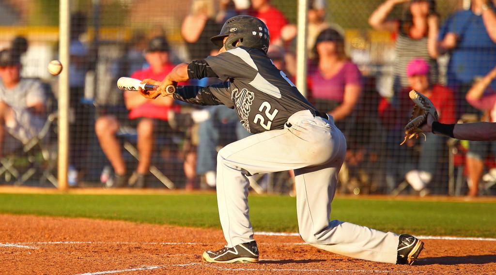 Pine View's Logan Lafamina (22), Desert Hills vs. Pine View, Baseball, May 3, 2016, | Photo by Robert Hoppie, ASPpix.com, St. George News