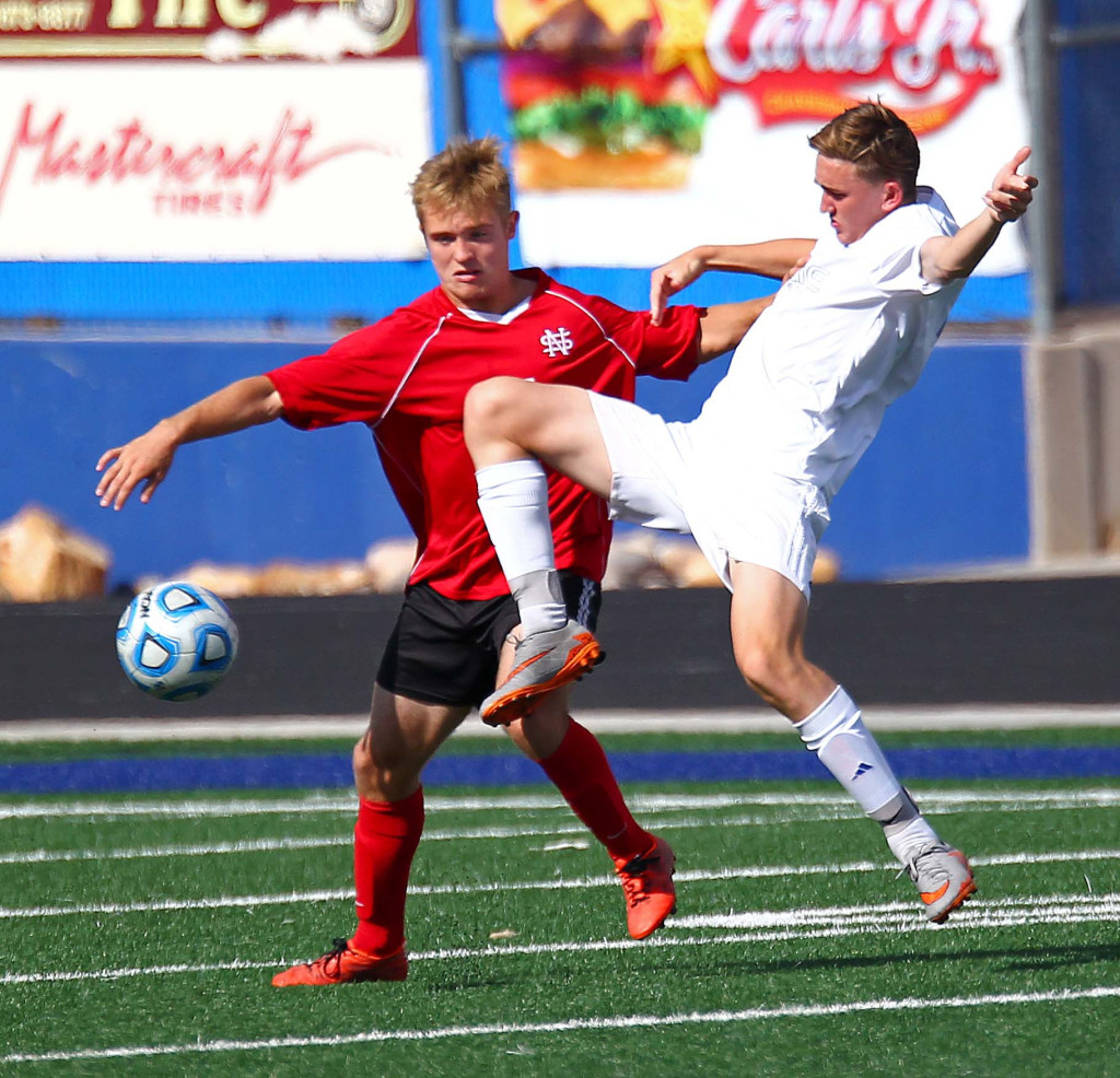 Dixie vs. North Sanpete, Soccer, May 5, 2016, | Photo by Robert Hoppie, ASPpix.com, St. George News
