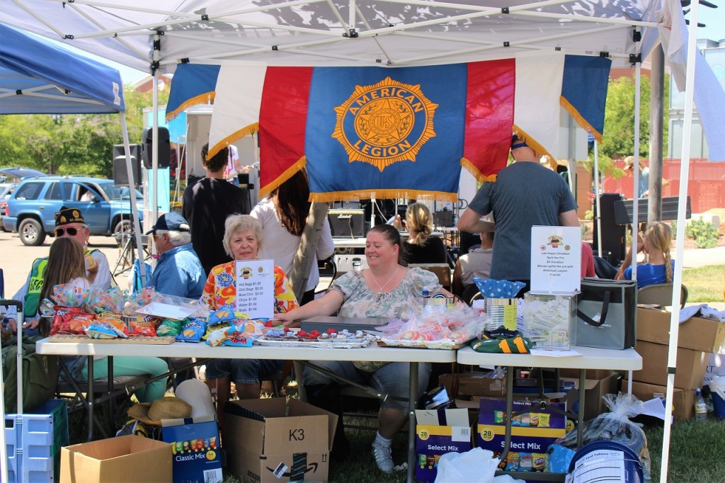 Volunteers running American Legion Post 90 Booth, Utah State Chili Cook-Off, St. George Town Square, St. George, Utah, May 14, 2016 | Photo by Cody Blowers, St. George News