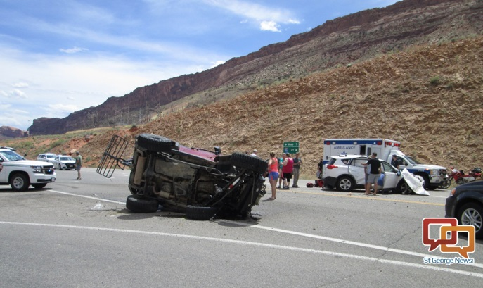 Teen Girl Dies As Result Of Crash Near Entrance To Arches
