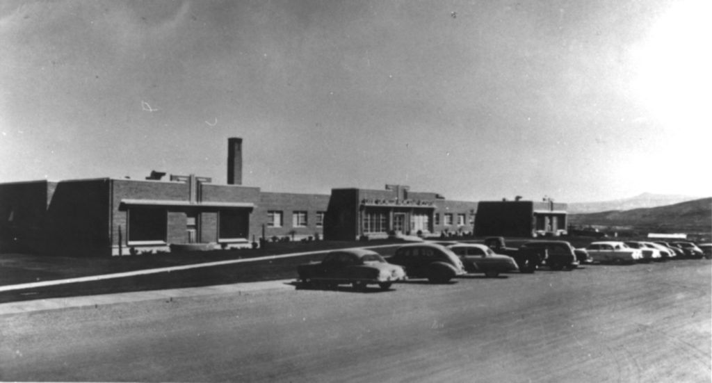 Dixie Pioneer Memorial Hospital, St. George, Utah, date unspecified | Photo courtesy of the Washington County Historical Society, St. George News