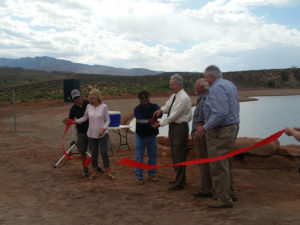 A ribbon-cutting ceremony was held Thursday for Fire Lake Park, which is now open at Ivins Reservoir, Ivins, Utah, May 26, 2016 | Photo by Julie Applegate, St. George News
