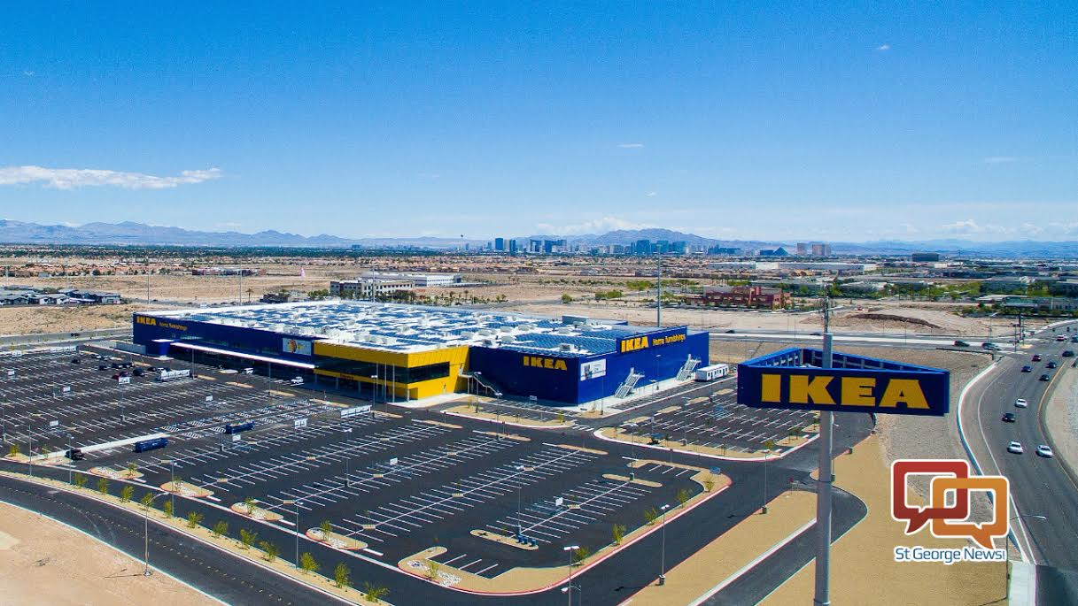las vegas ikea to open in grand fashion furniture gift certificate giveaways st george news. Black Bedroom Furniture Sets. Home Design Ideas