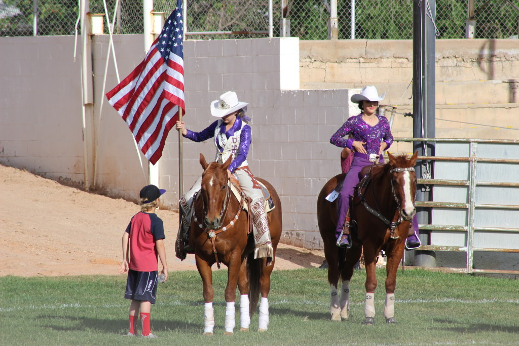 McKinley Drake and McKayla Jimmerson at St. George Lions Dixie Roundup Queen and Princess Contest, Dixie Sunbowl, 150 South 400 East St. George, Utah, May 5, 2016 | Photo by Cody Blowers, St. George News