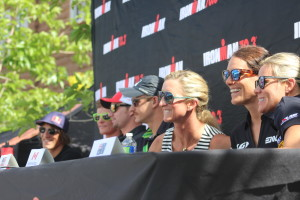Six elite Ironman Pros discussed a variety of subjects in a Pro Panel public forum Thursday afternoon in St. George, Utah, May 5, 2016 | Photo by Don Gilman, St. George News