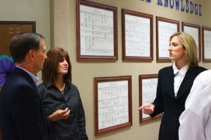 """Congressman Chris Stewart took a tour of the George Washington Academy which was recently named as """"one of the top performing charter schools"""" by the National Alliance of Public Charter Schools. St. George, Utah, May 6, 2016   Photo by Don Gilman, St. George News"""