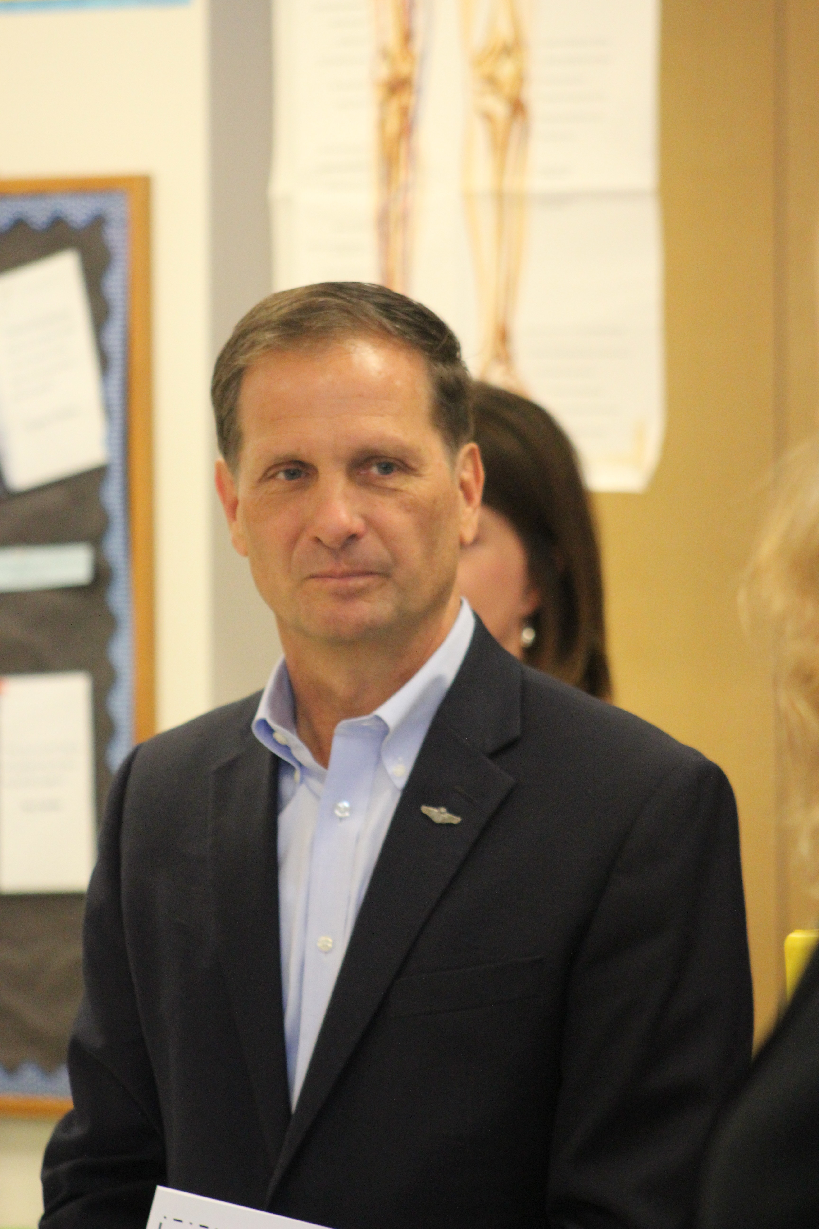 Congressman Chris Stewart took a tour of George Washington Academy, which was recently named as one of the top performing charter schools by the National Alliance of Public Charter Schools, St. George, Utah, May 6, 2016 | Photo by Don Gilman, St. George News