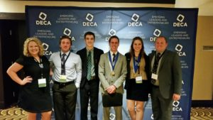 SUU DECA club at 2016 ICDC Preliminary Awards Ceremony, Washington, D.C., Date not given | Photo courtesy of Southern Utah University, St. George News