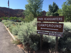 Snow Canyon State Park Campground. The campground and campground restroom facilities will be temporarily closed from May 31 to approximately June 30 for repaving and electric power expansion. Snow Canyon State Park, Ivins, Utah, May 25, 2016   Photo by Hollie Reina, St. George News