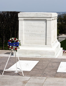 Tomb of the unknown soldier at Arlington cemetery, Washington, D.C. date not specified | Photo by Mishella / Getty Images Plus; St. George News