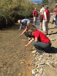 Utah Water Watch volunteers receive training in Escalante, Utah, October 2, 2010 | Photo courtesy of Utah Water Watch, St. George News