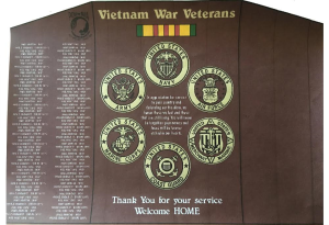 A rendering of the new Vietnam veterans monument set to be unveiled at Zion Harley Davidson in Sept. Location and date not specified | Rendering courtesy of Judith Cooley, St. George News
