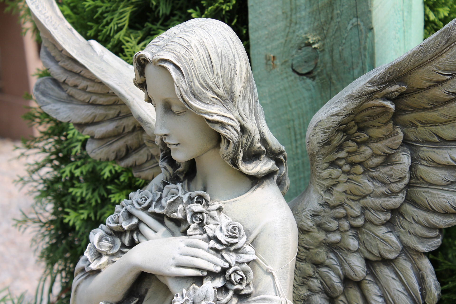 Garden angel | Stock image, St. George News