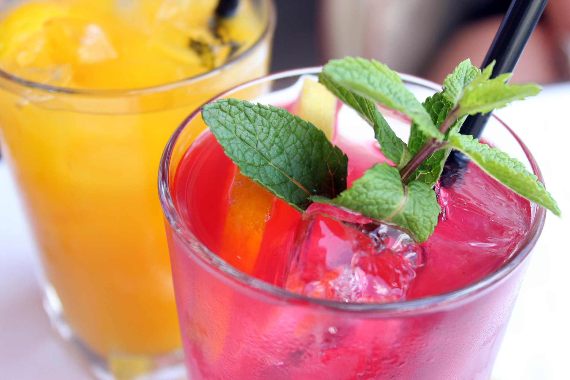 Fresh mint in a summer drink | Stock image, St. George News