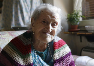 In this file photo, Emma Morano, 116, sits in her apartment. At 116 years of age, Emma is now the oldest person in the world and is believed to be the last surviving person in the world who was born in the 1800s, coming into the world on Nov. 29, 1899. That's just 4 and a half months after Susannah Mushatt Jones, who died Thursday in New York at the age of 116. Verbania, Italy, June 26, 2015 | Photo by Antonio Calanni (AP), St. George News