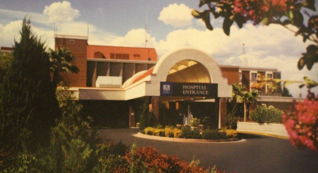 Dixie Regional Medical Center - east entrance, circa 1990, St. George , Utah | Image courtesy of Intermountain Healthcare, St. George News