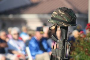 Memorial Day observance at the Veterans Honor Park in SunRiver, St. George, Utah, May 29, 2016 | Photo by Mori Kessler, St. George News