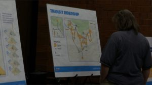 Members of community attend a meeting to give input on proposed future changes to SunTran bus service, St. George, Utah, May 25, 2016 | Photo by Sheldon Demke, St. George News