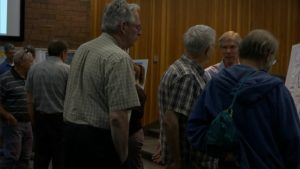 Members of community attend a meeting to give input on proposed future changes to SunTran bus service, St. George, Utah, May 25, 2016   Photo by Sheldon Demke, St. George News