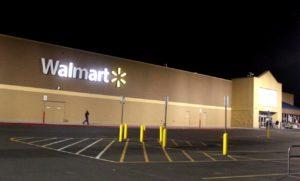 A short-lived electrical fire triggered the evacuation and temporary closure of the Washington City Wal-Mart Supercenter, Washington City, Utah, May 24, 2016   Photo by Mori Kessler, St. George News