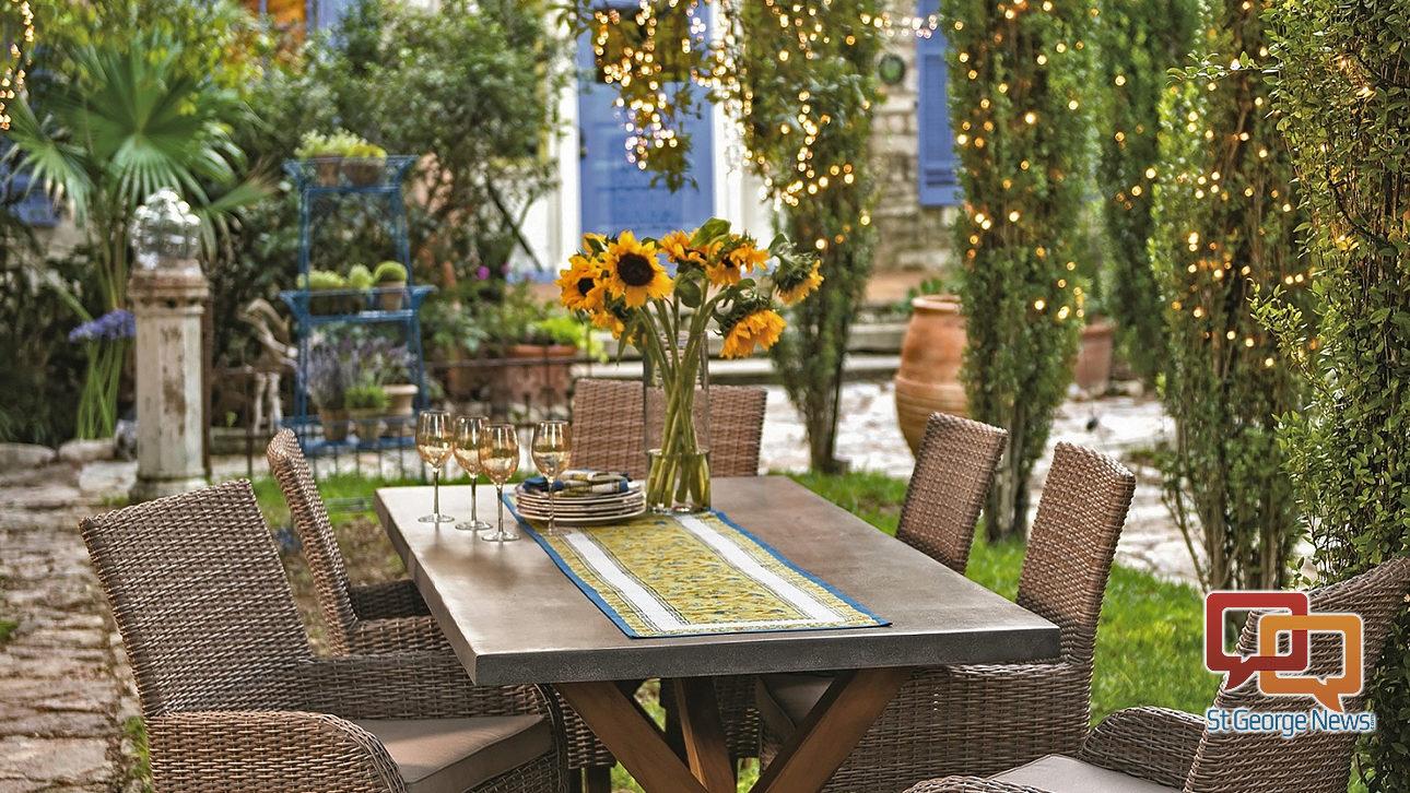 Design an outdoor garden room – St George News