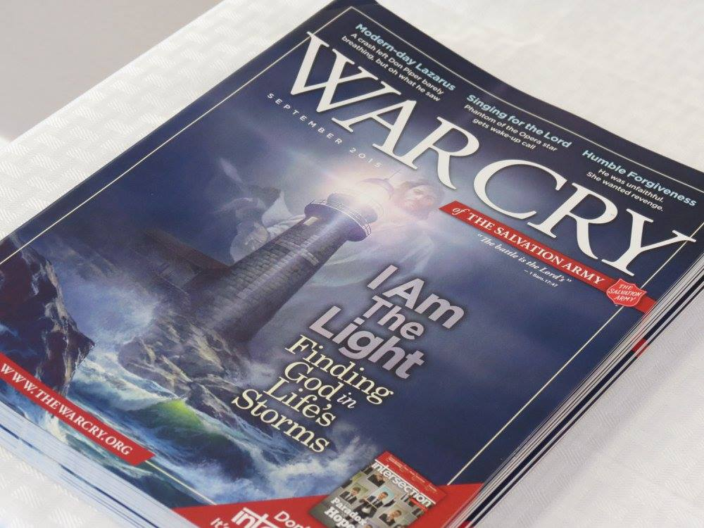 Magazines available at The Salvation Army ribbon-cutting ceremony Friday for new center on Bluff Street. St. George, Utah, June 3, 2016 | Photo by Sandie Divan, St. George News