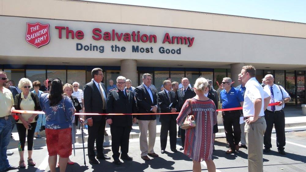 The Salvation Army opens 1st St  George service center – St