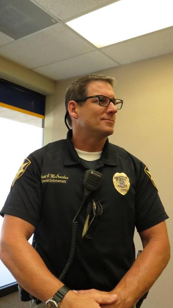 St. George Police Capt. Gordon McCracken, St. George News