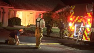 The St. George Fire Department responded to an electrical fire in a wall Saturday night. The blaze was quickly extinguished, St. George, Utah, June 4, 2016 | Photo by Austin Peck, St. George News